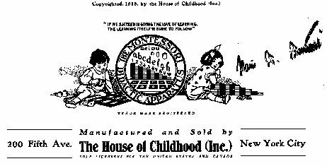 Illustration House of Childhood 1916
